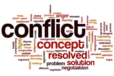 Conflict resolution – The patient is always right, mostly.